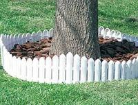 Various kinds of brick design plastic garden fence