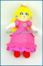 "NEW Super Mario Bros 13""/33cm Princess Peach Plush Figure Doll"
