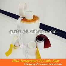 PI Label film,plastic film labels for PCB ID