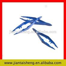 Medical disposable forceps long plastic tweezers