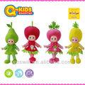 Q- niños 18 pulgadas muñeca de fruta venta/hablando muñeca