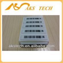 58KHz eas am dr anti-theft soft labels