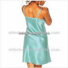 Sexy girls' evening dress,100%nature satin silk 2013 fashion design ,long frock.