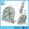 10inch 12v 6w dc solar small fan portable lithium battery mini fan rechargeable box fan
