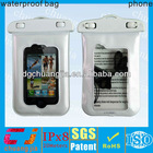 low cost cell phone diamond case for iphone4/4s with ipx8 certificate for underwater diving