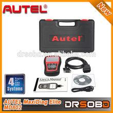 100% original Autel code reader Maxidiag Elite MD802 4 IN 1 (MD701+MD702+MD703+MD704) ) ALL System + DS Model + EPB + OLS