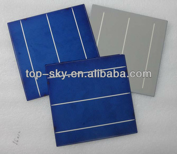 TP-156P Hottest sell 6''x6'' multi-crystalline solar cell supplier high efficiency high quality solar cells 156x156