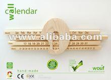Wall calendar - hand-crafted calendar