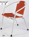 Plástico cadeira ao ar livre / stacking plastic piscina cadeira 1051