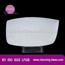 New Porcelain Rectangular Plate