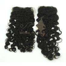 mongolian kinky curly hair closure hot lace closure
