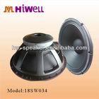 8ohm 1000W high power bass subwoofer speaker