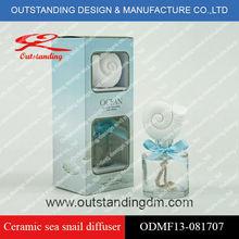 Ocean series/ceramic sea snail diffuser