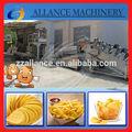 514 venta caliente 60 kgh de acero inoxidable completamente automático de papas fritas francés que hace la máquina