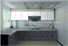 high gloss finish kitchen cabinet prefab
