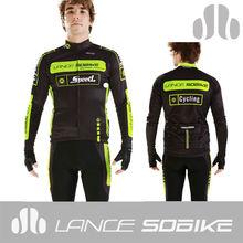 Lance Sobike 2013 térmica de manga larga camisetas de ciclismo