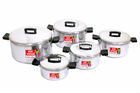 South Africa 10PC Aluminium Pot Set