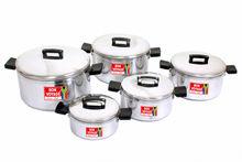 South Africa 10PC Aluminium Pot Set