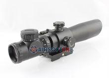 Best Hunting Riflescope 2-7x 32mm Red Green Dot Illuminated Sight Scope w/ Tactical Green Laser Aim Sight, 2-7x32EG
