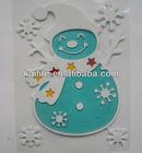 Snowman EVA Sticker