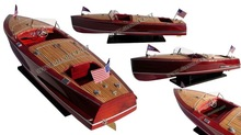 CHRIS CRAFT RACING RUNABOUT 1953