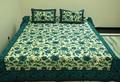 indiens ethniques main belle couvre lit en coton