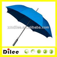 advertising high quality blue stick golf umbrella logo
