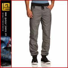 mens denim jeans jogger elasticated waist fitted (GYK0022)