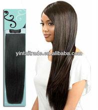 2014 Top quality wholesale Bobbi Boss virgin Indian Remi human hair straight human hair weave virgin indian hair weave