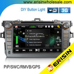 "Erisin ES1018K 8"" COROLLA Car Radios GPS PiP 3G Player WiFi"