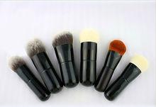 handmade short handle fat powder makeup brush