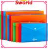 Shining Color clear file bag/transparent file bag/pp clear file bag