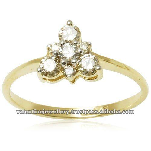 Diamond Ring With Gold Designs Gold Ring Design Diamond