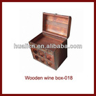 Antique Custom Wooden Wine Crate For Sale