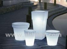 2012 LED flashing flower pot