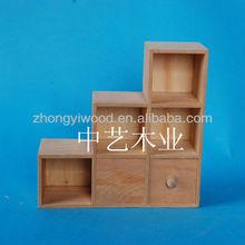 eco-friendly mini hot sale wooden chest