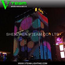 Mahjong 3/4 SMD curved led screen/curtain folding led display