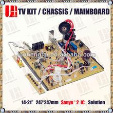 Supply CRT TV Motherboard repair parts