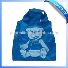 Foldable 3D 2D Cartoon Walmart Shopping Bag