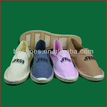 BHS095925 classic flat cheap espadrille shoes