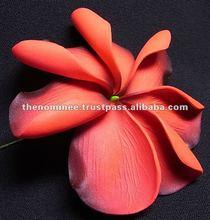 "4"" Folded Petal Tiare Handmade Eva Foam Artificial Flower"