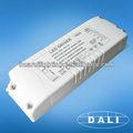 20w 700ma 24v de un solo tipo de salida de dali conductor regulable led fabricante 5-100% oscurecimiento rango, alto factor de potencia