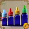 ISO8317 certification clear 10ml e liquid childproof cap dropper bottle