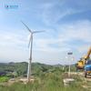5KW on/off grid system wind turbine,permanent magnet wind energy generator, FRP blades wind power equipment