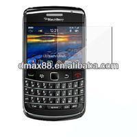 3X mobile phone screen protectors for Blackberry 9700 oem/odm (Anti-Fingerprint)