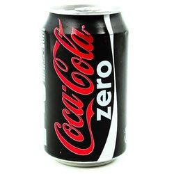 COCA COLA ZERO 330ml can