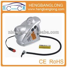 Plastic 19MM cylinder air compressor pump HD-008(CE&ROHS)5 IN 1 air compressor