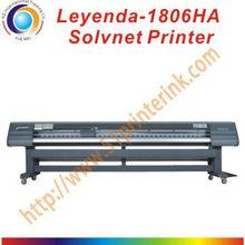 3.2M/1.8M use seiko heads large format solvent digital printer