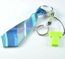 fancy necktie key ring