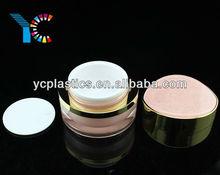 15g 30g 50g Eye Shaped Pink Acrylic Cream Jar
